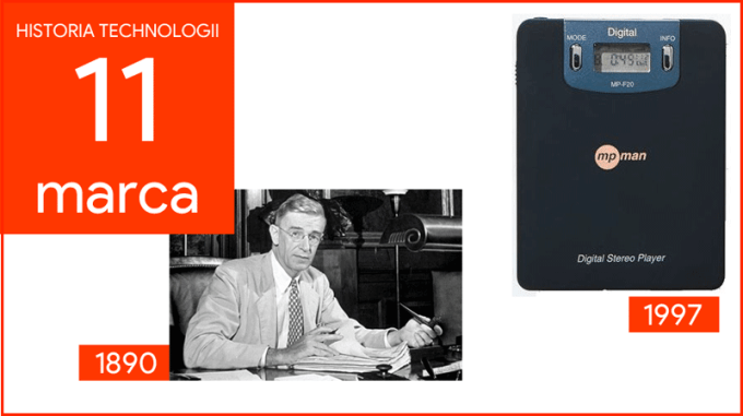 11 marca - Dzień w historii technologii