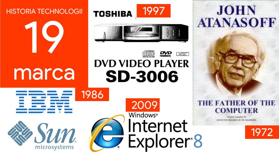 19 marca - Dzień w historii technologii