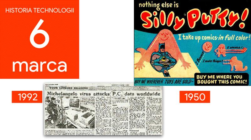 6 marca - Dzień w historii technologii
