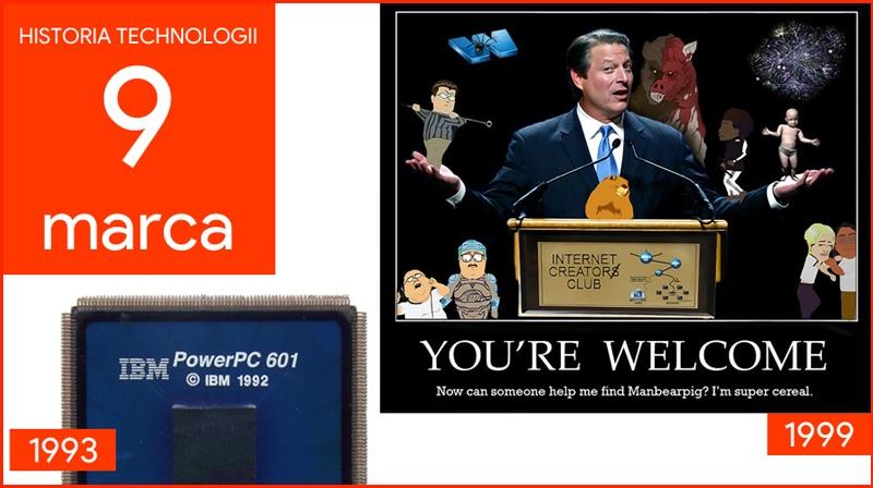 9 marca - Dzień w historii technologii
