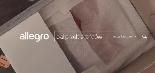 """Nowa reklama Allegro pt. """"Bal przebierańców"""""""