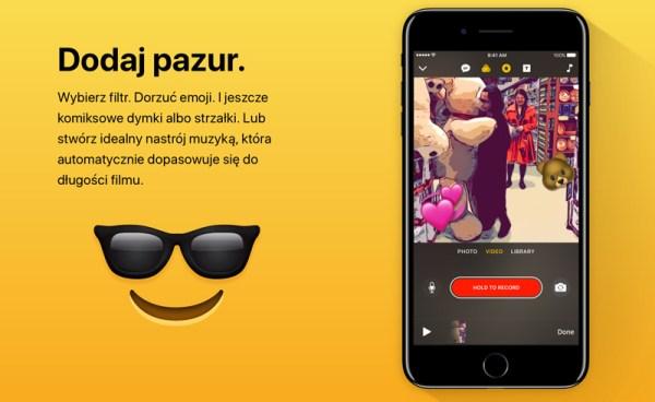 Clips – nowa aplikacja do udostępniania filmów i zdjęć