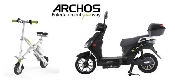 Archos zaprezentował serię elektrycznych jednośladów