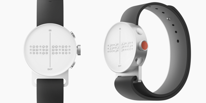 Dot Watch - Braille smartwatch