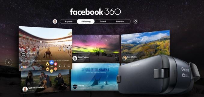 Aplikacja Facebook 360 (Gear VR)