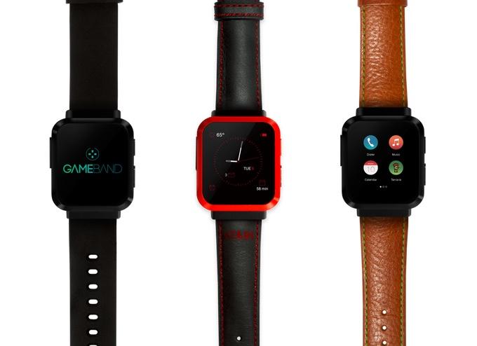 Warianty smartwatcha Gameband