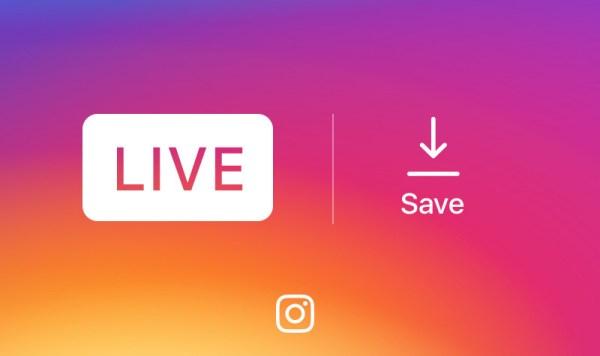 Na Instagramie można już zachować wideo na żywo