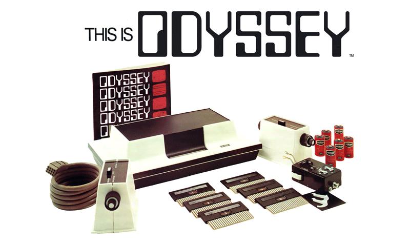 Konsola Magnavox Odyssey (1982)