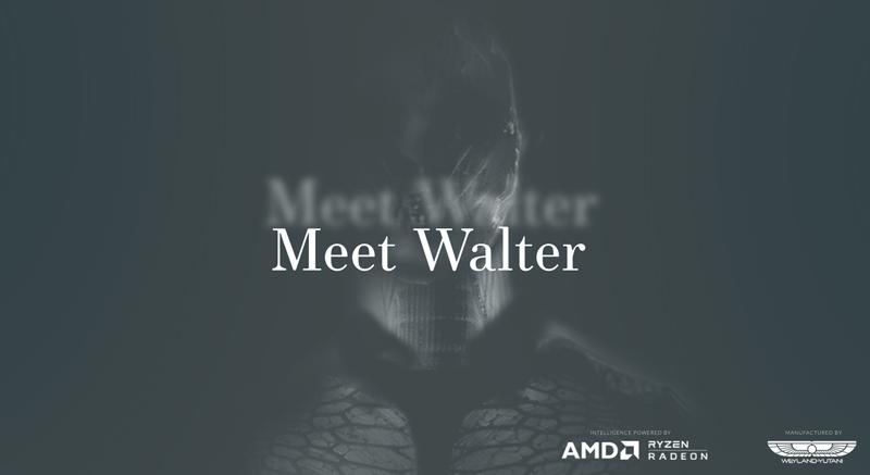 Meet Walter, Alien: Covenant (2017)