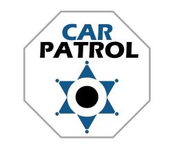 Naklejka społeczności Car Patrol