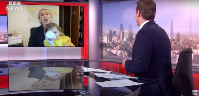 Parodia wywiadu BBC z dziećmi