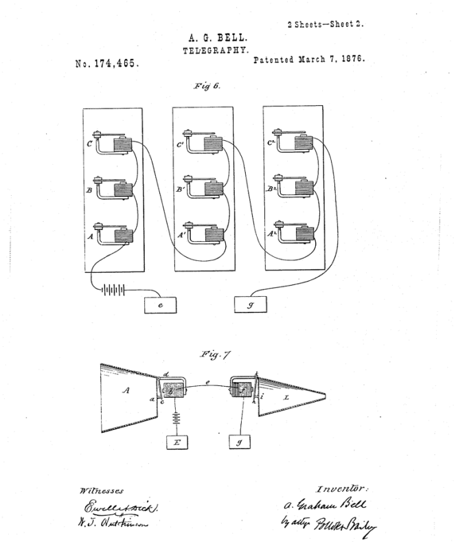 Patent US 174465 (Alexander Bell)