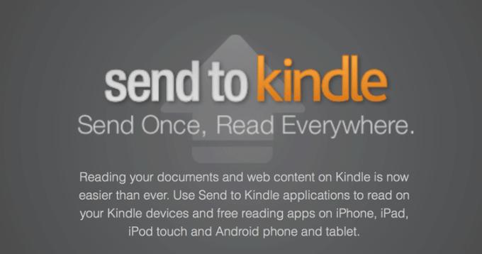 Send to Kindle (Amazon)