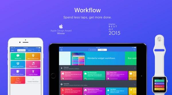 Apple zakupiło popularną aplikację Workflow