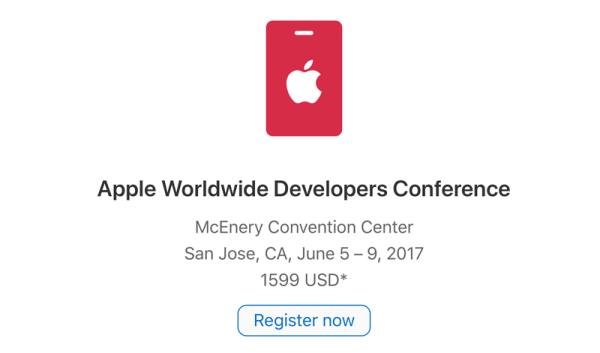 Apple uruchomiło rejestrację na WWDC 2017