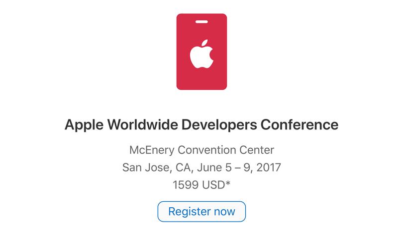 WWDC 2017 - rejestracja