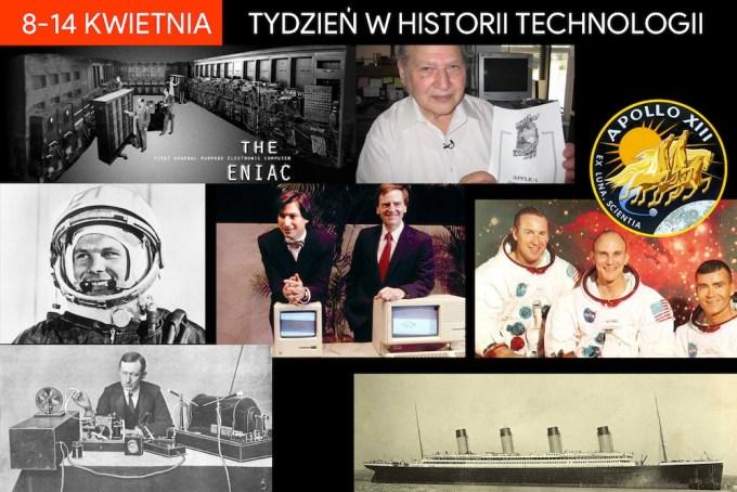8-14 kwietnia - tydzień w historii technologii