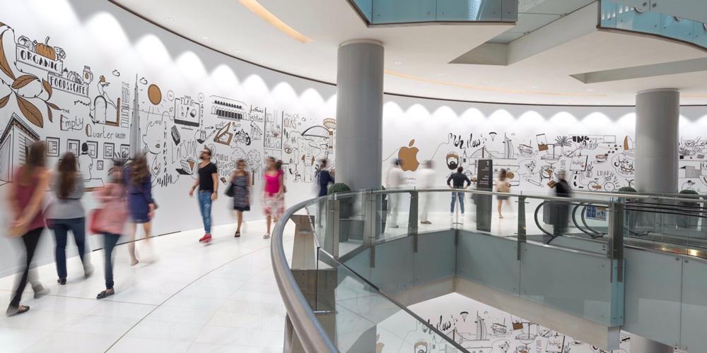 Apple Dubai Mall (zdjęcie)