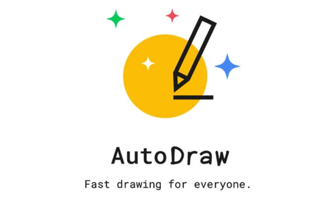 AutoDraw (logo) - szybkie rysowanie w przeglądarce.