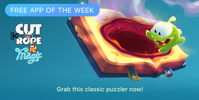 """Cut the Rope: Magic"" - Free App of the Week (App Store)"