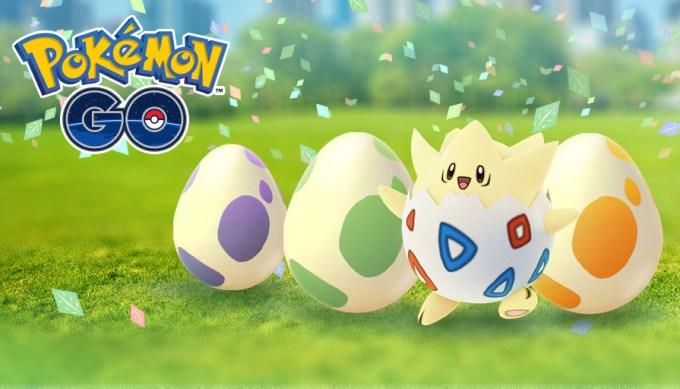 Pokemon GO Eggstarvaganza