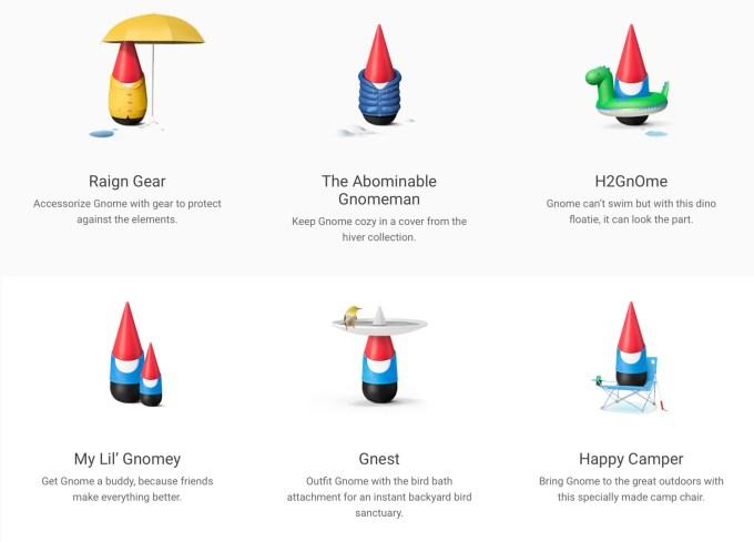 Rodzaje Google Gnome'a