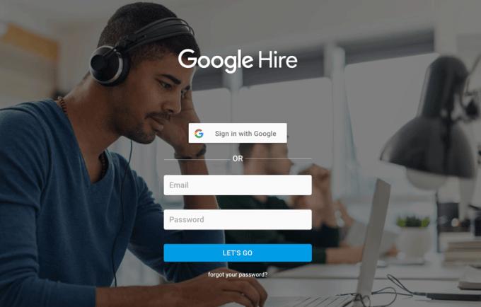 Google Hire - nowy serwis dla rekruterów