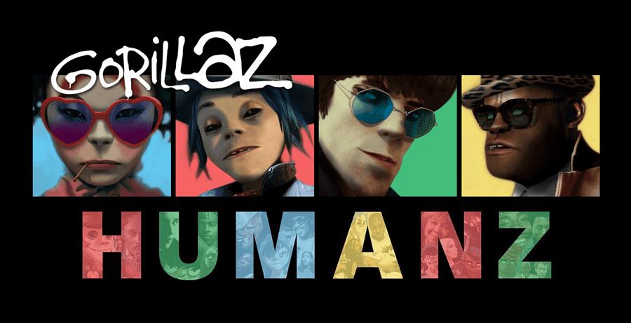 """Aplikacja mobilna Gorillaz promująca album """"Humanz"""""""
