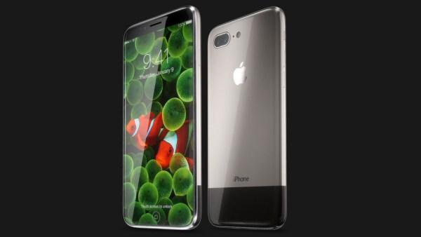 Koncepcja iPhone'a 8 (Edition) stworzona przez Hajka