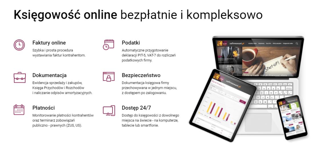 Księgowość onlone dla firm na zafirmowani.pl
