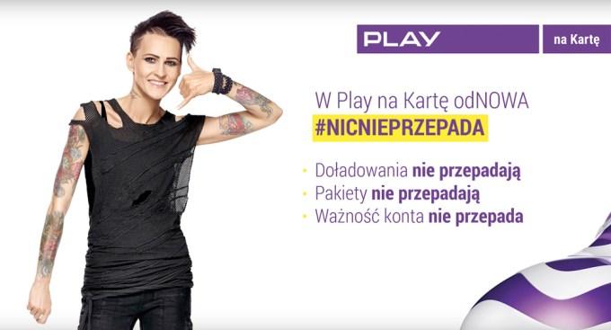 Play odNOWA na kartę #NicNiePrzepada - Agnieszka Chylińska