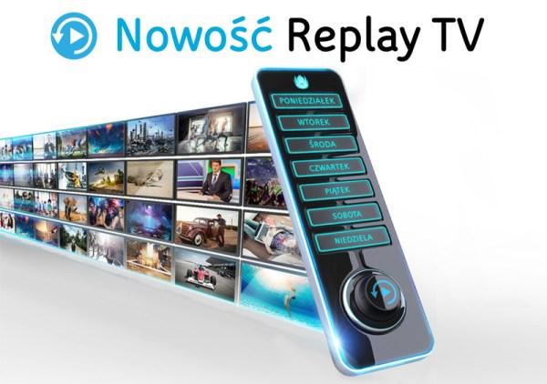 UPC wprowadza usługę Replay TV do swojej oferty