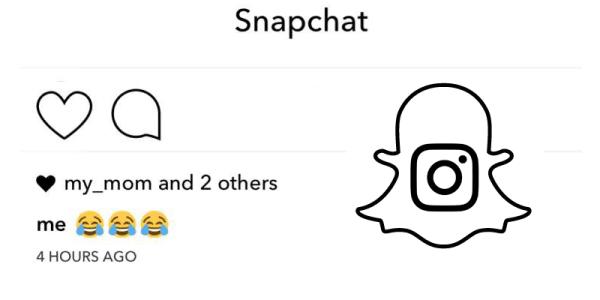 Snapchat inteligentnie żartuje z Instagrama