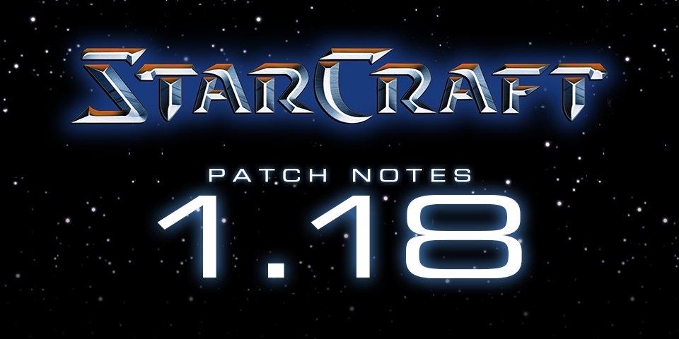 StarCraft 1.18 download free