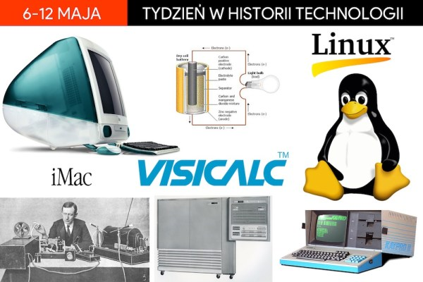 [6-12 maja] Tydzień w historii technologii