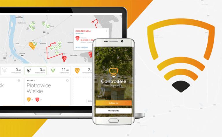 ControlBee - monitoring GPS pasieki