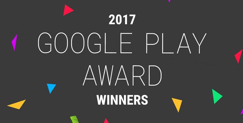 Google Play Awards 2017 - najlepsze aplikacje mobilne na Androida w 2017 r.