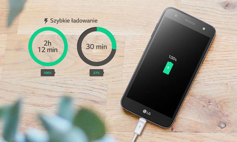 LG X power2 - szybkie ładowanie