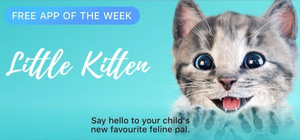 """""""Little Kitten"""" darmową aplikacja tygodnia w App Storze"""