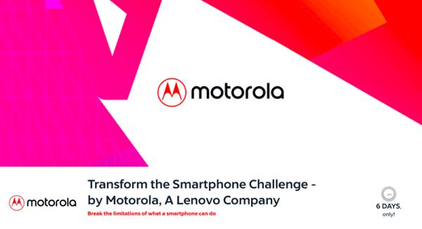 "Motorola ogłasza konkurs ""Transform the Smartphone""w Europie"
