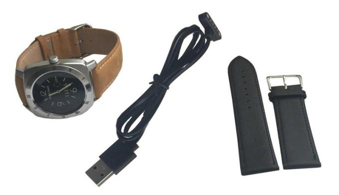 Zawartość opakowania ze smartwatchem SmartGPS SMW01