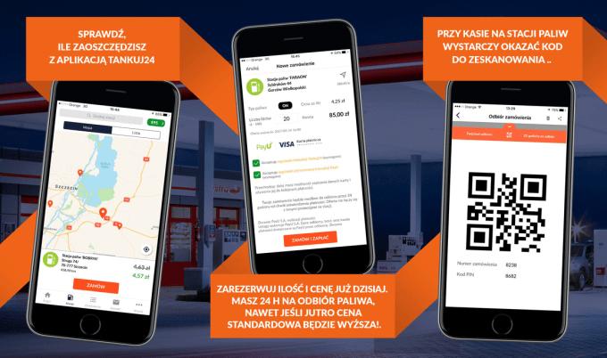 Tankuj24 - aplikacja mobilna
