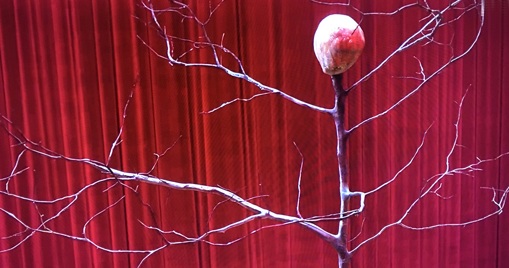 Twin Peaks - Arm on the tree in the Red Room
