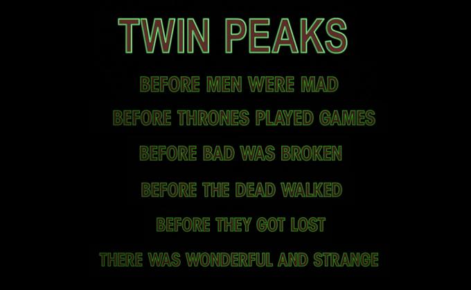 Twin Peaks (2017) trailer