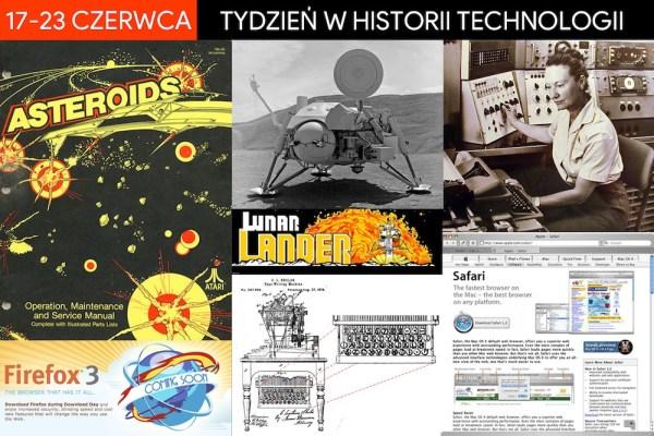 [17-23 czerwca] Tydzień w historii technologii