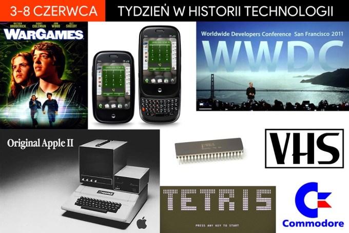 3-8 czerwca: tydzień w historii technologii