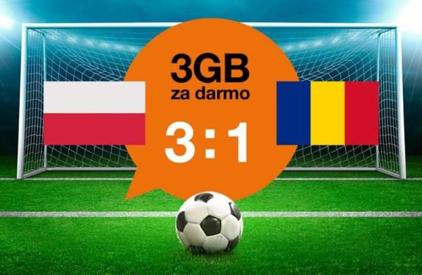 3 GB od Orange za zwycięstwo Polaków ⚽️