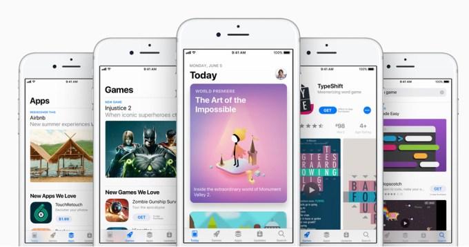 Nowy App Store pod iOS 11