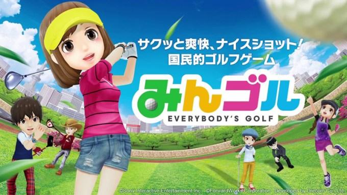 Everybody's Golf od Sony na smartfony