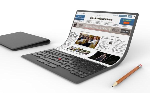 Absurdalna koncepcja laptopa z elastycznym ekranem